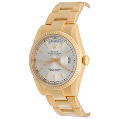 Rolex Yellow Gold President Day-Date Oyster Automatic Wristwatch Ref 118238
