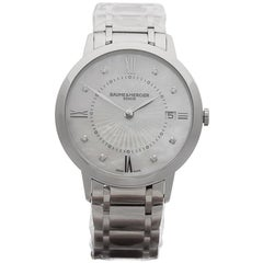 Baume & Mercier Classima Original Diamonds Gents MOA10225 Watch