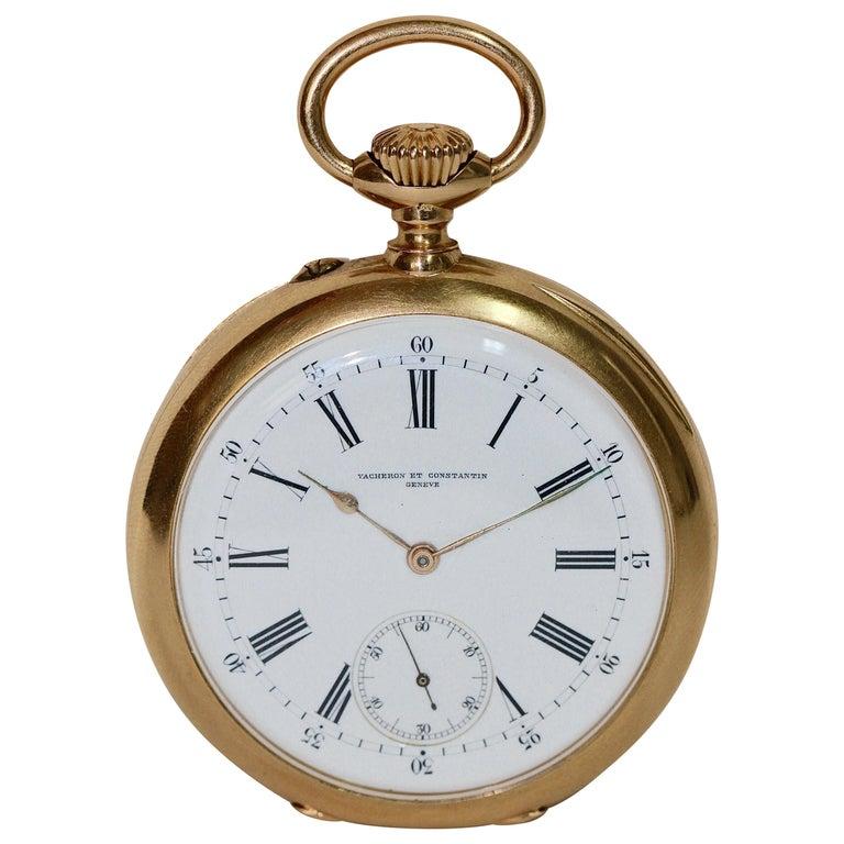 Vacheron Constantin Yellow Gold Pocket Watch