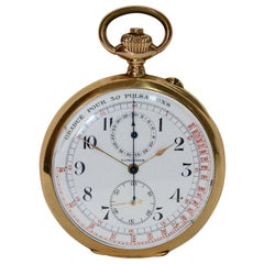 Longines Yellow Gold Pocket Watch