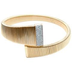 K DI Kuore Gold 18.8 GR and 0.40 Carat Diamonds Bracalet