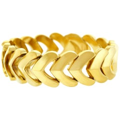 Gold Bracelet by Kurz of Zurich, 1960s