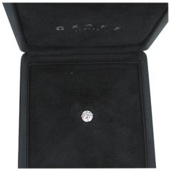 Loose Brilliant Cut Diamond in Its Box Signed Graff