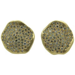 Antonini Gold and Diamond Earrings