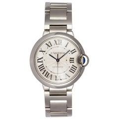 Cartier Stainless Steel Ballon Bleu Automatic Wristwatch, 2015