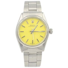 Rolex Stainless Steel Oyster Perpetual automatic Wristwatch Ref 6748, c1973