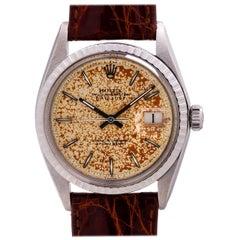 Rolex Stainless Steel Datejust self winding wristwatch Ref 1601, circa 1968