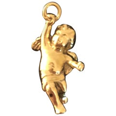 Tiffany & Co. 18 Karat Gold Cherub Charm/Pendent