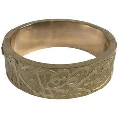 Gold Cuff Wide Cairo