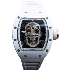 Richard Mille RM 052 Tourbillon Skull Manual Wind Wristwatch