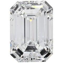 GIA Certified 10.50 Carat Emerald Diamond Ring