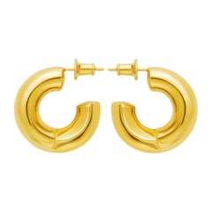 Gold Vermeil Gamma Earring
