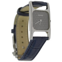 Hermès by Corum Stainless Steel H Vintage Quartz Watch