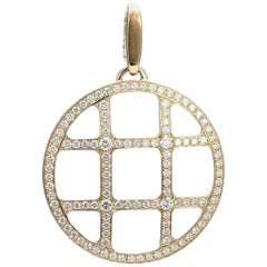 Cartier Pasha De 18 Karat Yellow Gold Diamond Pendant