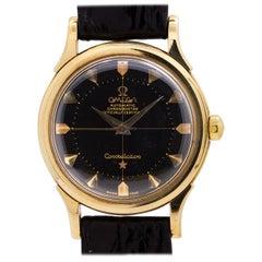 Omega Yellow Gold Constellation Self Winding Wristwatch Ref 2852, circa 1956