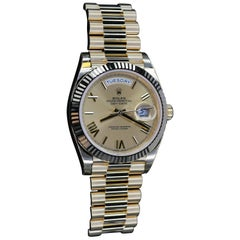 Rolex Yellow Gold President Day-Date Automatic Wristwatch