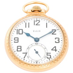 Elgin Gold Filled R. R. Railroad Approved Pocket Watch
