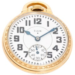 Elgin Gold Filled BW Raymond Pocket Watch