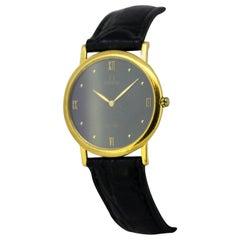 "Vintage Omega ""De Ville"" Wristwatch Set in 18 Karat Yellow Gold, circa 1970s"