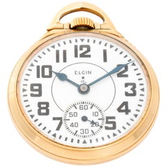 Elgin Gold filled BW Raymond Manual Pocket Watch
