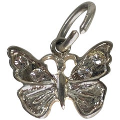 Vintage Sterling Silver Butterfly Charm/Pendant