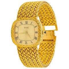 Piaget 18 Karat Gold Wristwatch