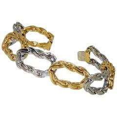 Cartier 18 Karat Gold Link Bracelet, circa 1960