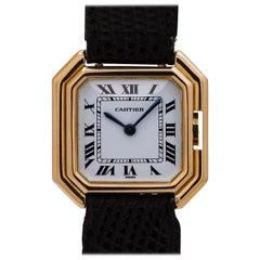 Cartier Ladies Yellow Gold Ceinture manual wind Wristwatch, circa 1970s