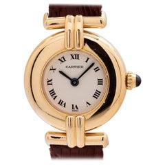 Cartier Yellow Gold Lady Colisee Quartz Wristwatch, circa 1990s