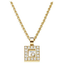 Chopard Small Diamond Square Pendant 792896-0001