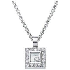 Chopard Small Diamond Square Pendant, 792896-1001