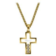 Chopard Happy Diamonds Yellow Gold Diamond Pendant 794009-0001