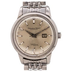 IWC Stainless Steel Ingenieur Automatic Wristwatch Ref 666 AD, circa 1960s