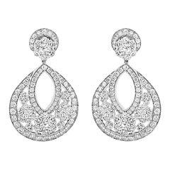 Van Cleef & Arpels Snowflake Earrings, Large Model, VCARO3RL00