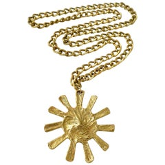 """1970s Bulgari """"Sun"""" Necklace"""