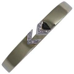 Gold and Diamond Arrow Bracelet