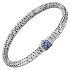 John Hardy Women's Classic Chain Silver Lava Extra-Small Bracelet
