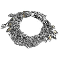 John Hardy Women's Legends Naga Gold and Silver Dangling Bracelet