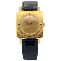 Vintage Universal Genève Automatic Wristwatch Set in 18 Karat Gold, circa 1950s