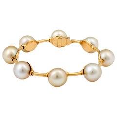 Golden Southsea Pearl Bracelet