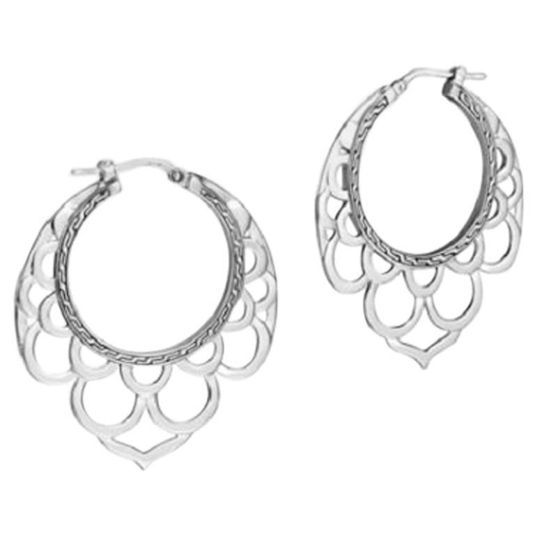 John Hardy Naga Earrings Eb65790 For