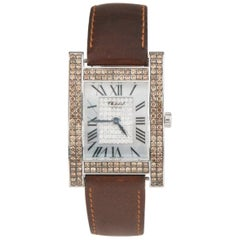 Chopard Ladies White Gold Diamond Mother-of-Pearl Your Hour Quartz Wristwatch
