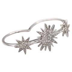 Gem Gallery Exquisite Two Finger Firecrackers Diamond Ring