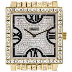 Chopard 18 Karat Yellow Gold Mother-of-Pearl Dial Diamond Set 17/3531/8