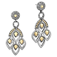 John Hardy Women's Legends Naga Gold and Silver Chandelier Earrings BG, EZ65263