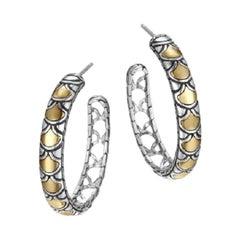 John Hardy Legends Collection Naga Medium Hoop Earring, EZ65950