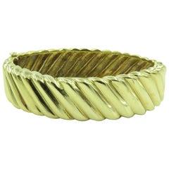 Tiffany & Co., Yellow Gold Bracelet