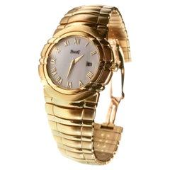 Piaget Yellow Gold Tanagra Midsize quartz Wristwatch, c 1993