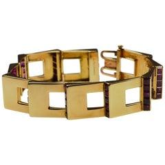 Cartier Rubin Gold Bracelet