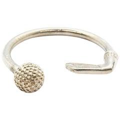 Tiffany & Co. Sterling Silver Golf Ball Key Ring